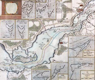 Kartenausschnitt mit Heringszäunen